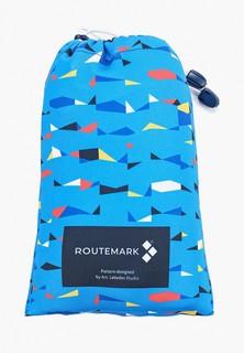 "Чехол для чемодана Routemark ""Грани""с паттерном Студии Артемия Лебедева"