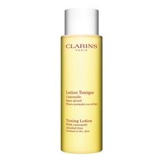 CLARINS Тонизирующий лосьон с экстрактом ромашки для нормальной/сухой кожи