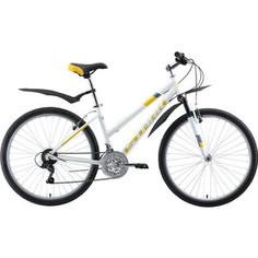 Велосипед Stark 19 Luna 26.1 V белый/жёлтый/серый 16