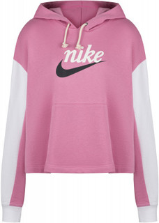 Худи женская Nike Sportswear Varsity, Plus Size, размер 52-54