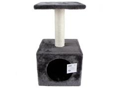 Когтеточка Pet Choice 30x30x57cm SBE307-Grey