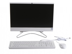 Моноблок HP 22-c0163ur/s White 9CN87EA (Intel Core i5-9400T 1.8 GHz/8192Mb/256Gb SSD/Intel HD Graphics/Wi-Fi/Bluetooth/Cam/21.5/1920x1080/DOS)
