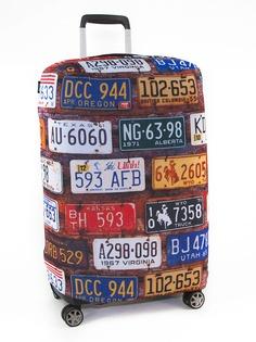 Чехол для чемодана RATEL Travel размер M License Plates