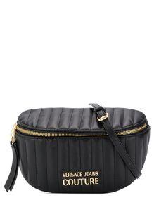 Versace Jeans Couture стеганая поясная сумка