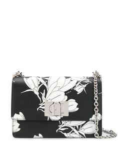 Furla сумка через плечо 1927 с цветочным принтом
