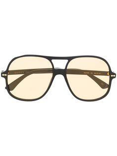 Gucci солнцезащитные очки-авиаторы