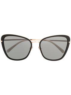 Pomellato Eyewear солнцезащитные очки в оправе бабочка