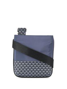 Emporio Armani сумка-мессенджер с монограммой