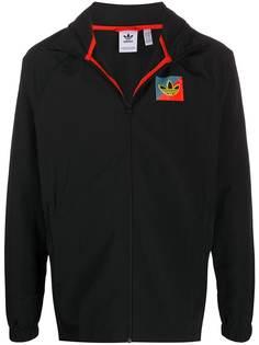 adidas легкая куртка с логотипом