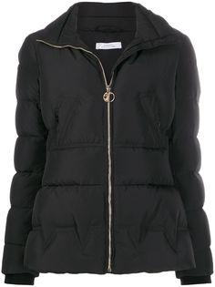 Versace Collection пуховик с воротником-воронкой