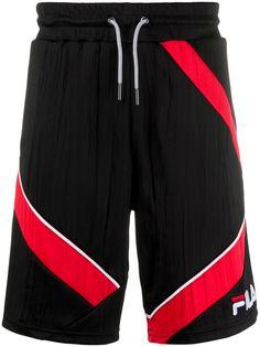 Fila спортивные шорты с контрастными полосками