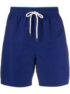 Polo Ralph Lauren плавки-шорты с кулиской и вышитым логотипом