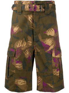 Isabel Marant камуфляжные шорты карго с поясом