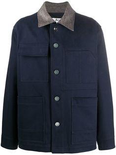 Acne Studios куртка-рубашка свободного кроя