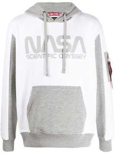 Alpha Industries Nasa print hoodie
