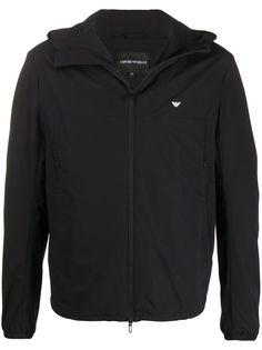 Emporio Armani куртка на молнии с логотипом