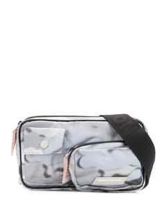 Heron Preston поясная сумка с камуфляжным принтом