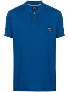 PS Paul Smith рубашка-поло с вышитым логотипом