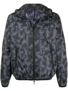Emporio Armani куртка с геометричным принтом