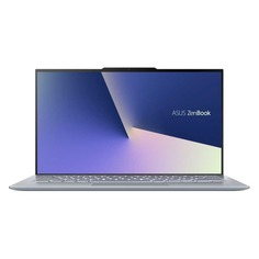 "Ноутбук ASUS Zenbook UX392FA-AB021R, 13.9"", Intel Core i7 8565U 1.8ГГц, 16Гб, 512Гб SSD, Intel UHD Graphics 620, Windows 10 Professional, 90NB0KY1-M01190, голубой"