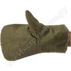 Утепленные брезентовые рукавицы гк спецобъединение рук 024