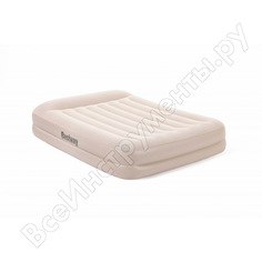 Надувная кровать bestway tritech airbed 203х152х42см 67696 bw