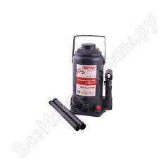 Гидравлический бутылочный домкрат skyway 30т h 255-405 мм с клапаном в коробке s01804008