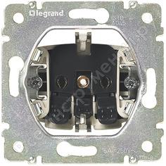 Розетка legrand vln 2к+з автоматические клеммы, шторки, белая 774222