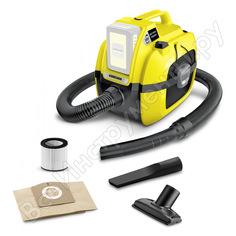 Хозяйственный пылесос karcher wd 1 compact battery 1.198-300