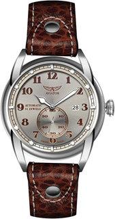 Швейцарские мужские часы в коллекции Vintage Bristol Мужские часы Aviator V.3.07.0.083.4
