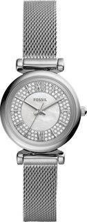 Женские часы в коллекции Carlie Mini Женские часы Fossil ES4837
