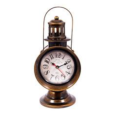Часы Фонарь настольные Русские подарки 13х17х29см