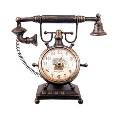 Часы Телефон настольные Русские подарки 29х14х26см