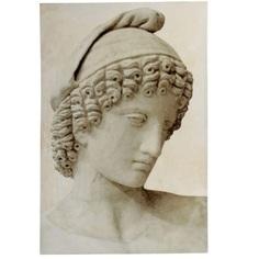 Картина Glasar с изображением античной скульптуры 80х4х120см ГЛАСАР