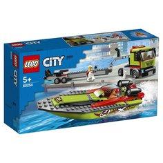 Конструктор Lego City Транспортировщик скоростных катеров