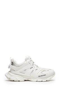 Белые комбинированные кроссовки Track Balenciaga