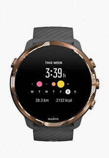 Часы Suunto SUUNTO 7 GRAPHITE COPPER