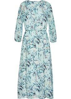 Длинные платья Платье макси с рисунком Bonprix
