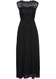 Вечернее платье макси Premium с кружевом Bonprix