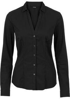 Блузки с длинным рукавом Блузка стрейч Bonprix