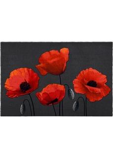 Придверные коврики Придверный коврик с цветочным рисунком Bonprix