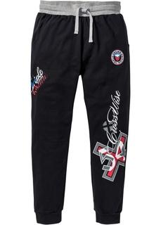 Спортивные штаны Трикотажные брюки Slim Fit Bonprix