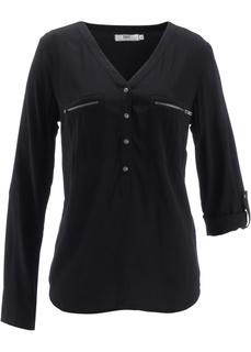 Блузки с длинным рукавом Блуза-рубашка с длинными рукавами Bonprix