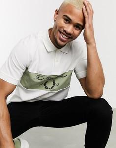 Белая футболка-поло с логотипом Fred Perry-Белый
