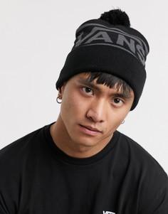 Черная шапка-бини Vans-Черный