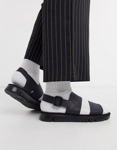 Черные сандалии на массивной подошве Camper-Черный