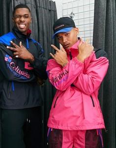 Розовая куртка Columbia-Розовый