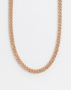 Золотистое ожерелье Weekday-Золотой