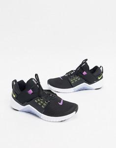 Черные кроссовки Nike Training Free Metcon 2-Черный