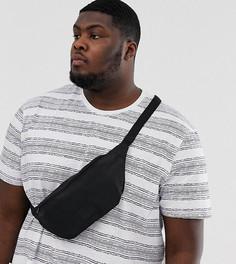 Черная сумка-кошелек через плечо ASOS DESIGN Plus-Черный